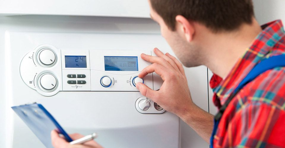 maintenance on heating & cooling system